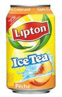 illustration Ice Tea Pêche