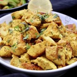 illustration ingrédient Poulet mariné au Curry
